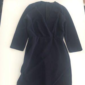 Nasty Gal Navy Blue bodycon dress